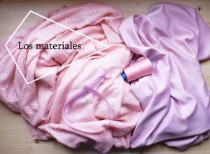 #vestidobonito materiales