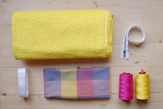 DIY Un bolso de playa muy resultón Skarlett Costura