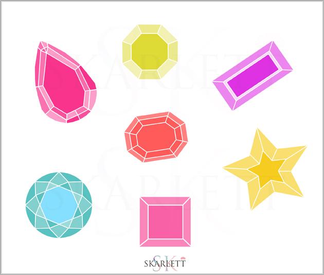 diseño telas piedras preciosas