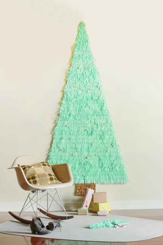 DIY-arbol-navidad-no-ocupa-espacio