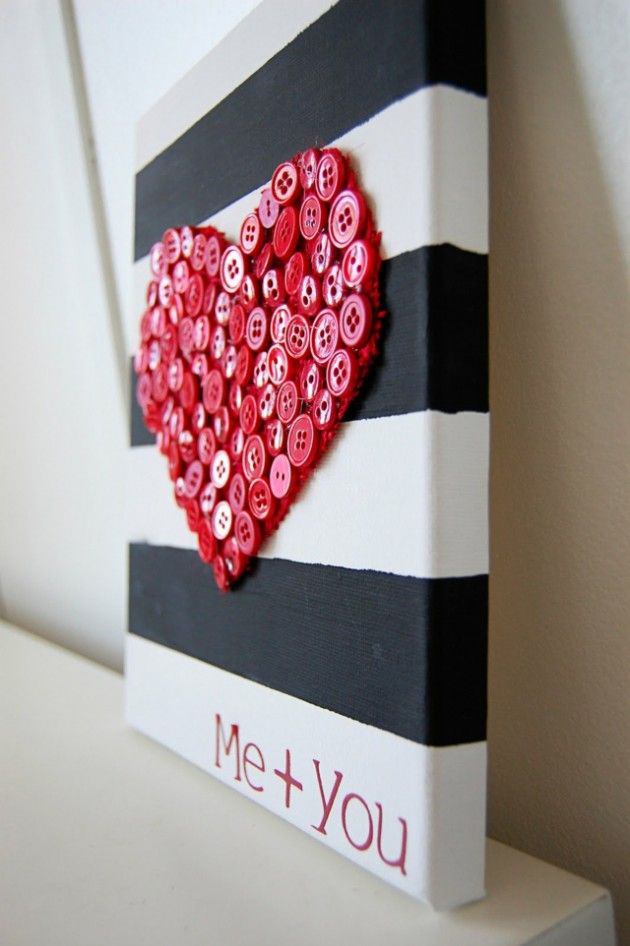 diy-cuadro-corazon-botones