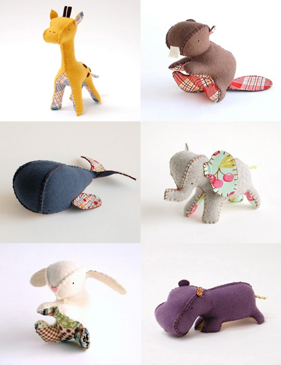 Recopilatorio de proyectos / Animales de tela - Skarlett Costura