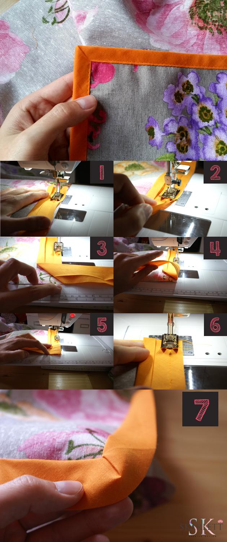 coser-bies-en-pico