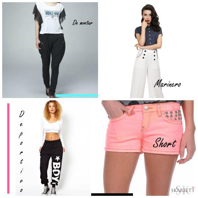 Diseno De Moda Tipos Basicos De Pantalon Ficha Descargable Skarlett Costura