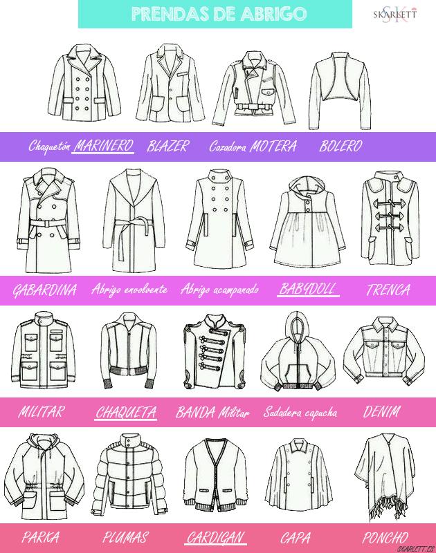 Diseño de moda / Cortes de chaqueta y abrigos - Skarlett