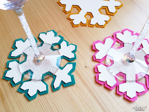 posavasos navidad coasters christmas diy