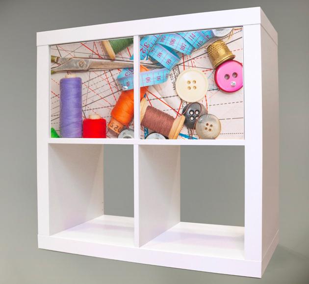 ideas para organizar tu cuarto de costura ahorrando