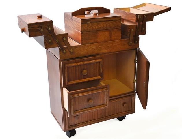 Ideas para organizar tu cuarto de costura ahorrando espacio - Mueble plancha leroy merlin ...