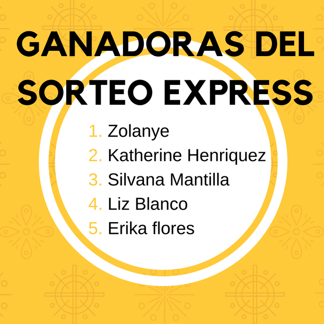 ganadoras-sorteo-express