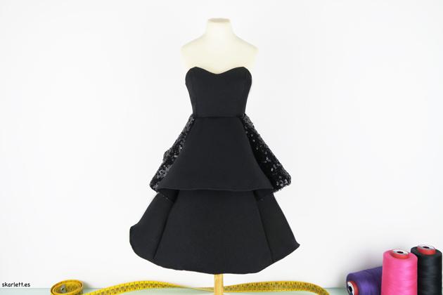 vestido miniatura