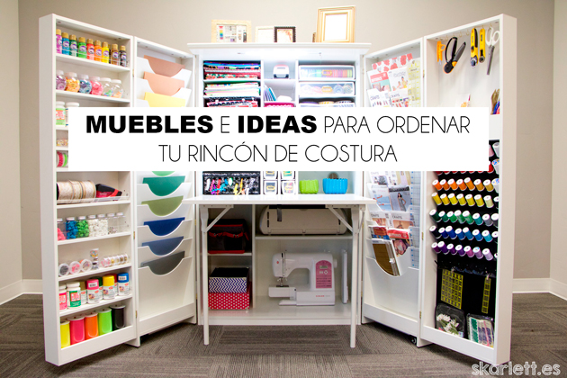 Muebles e ideas para mantener tu rinconcito de costura for Ideas muebles