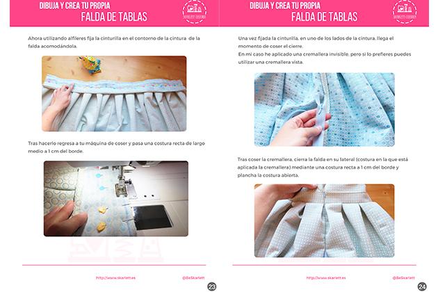 157cc4546 Dibuja y crea tu propia falda de tablas / Guía de Costura - Skarlett ...