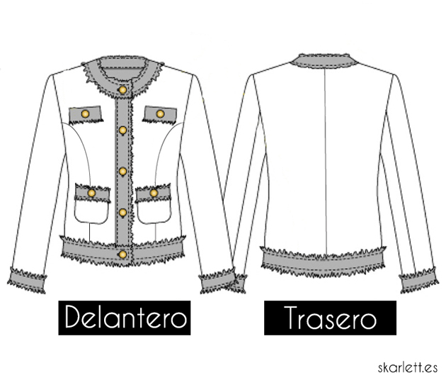 CHAQUETA CHANEL / COSTURAMIC - Skarlett Costura
