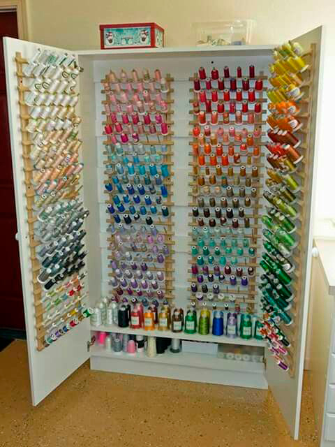 Nuevas ideas para ordenar tus hilos skarlett costura - Ideas para ordenar ...