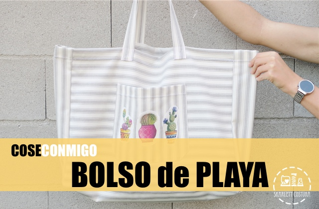 Tutorial costura bolso de playa Skarlett Costura