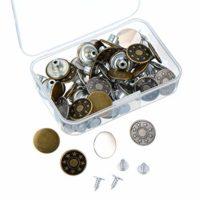 40 Sets Botones de metal